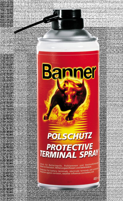 Banner Terminal Protection Spray